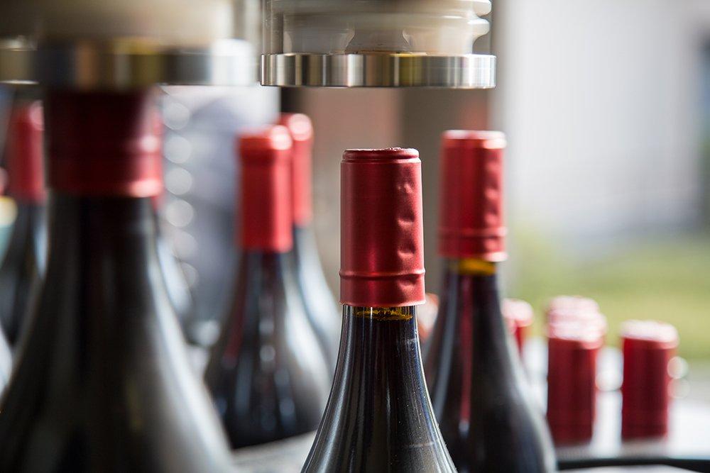 Bottling underway at Gravity Wine House
