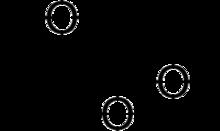 Peracetic Acid Molecule