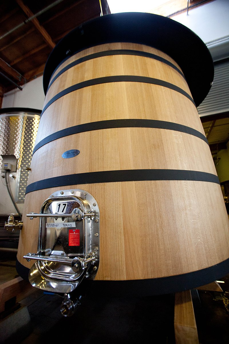 Wood Tanks Add Flavor and Aroma