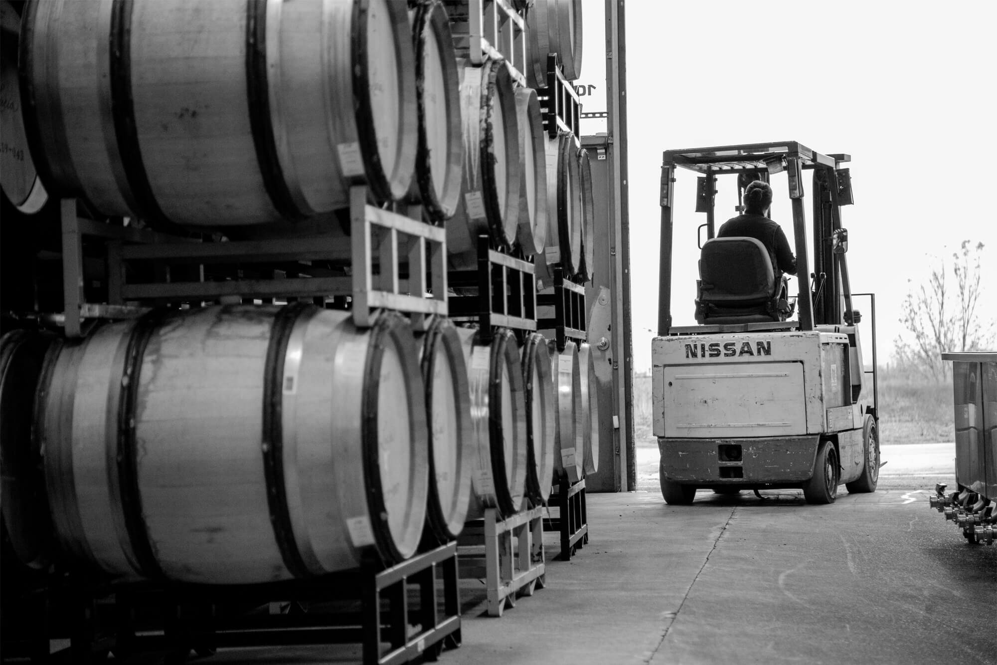 Nissan Forklift at the Facility