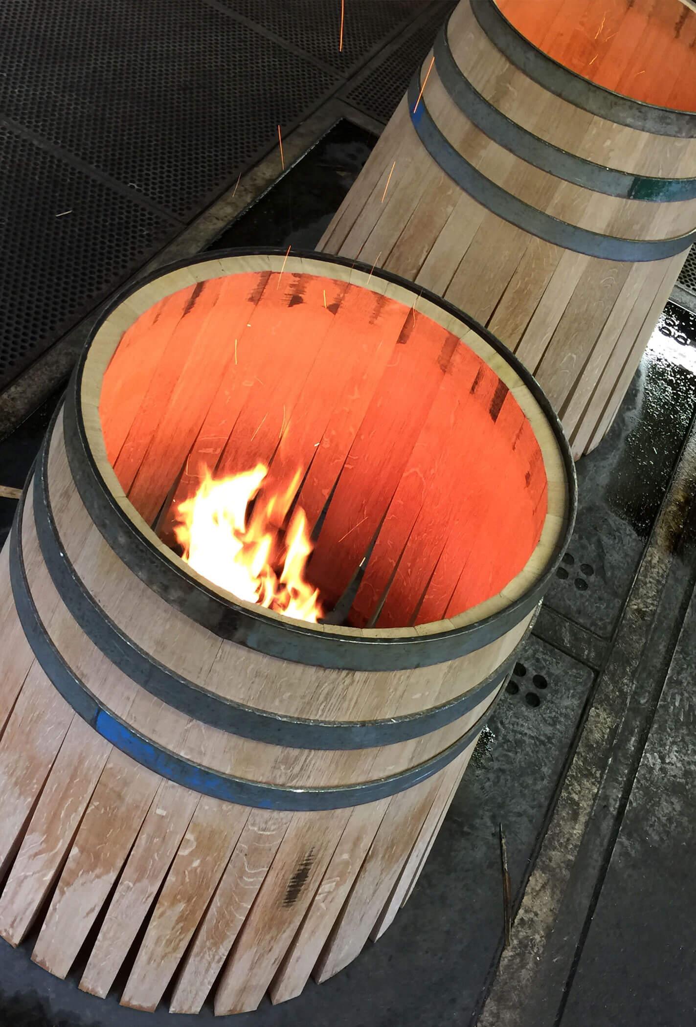 Toasting the Barrels